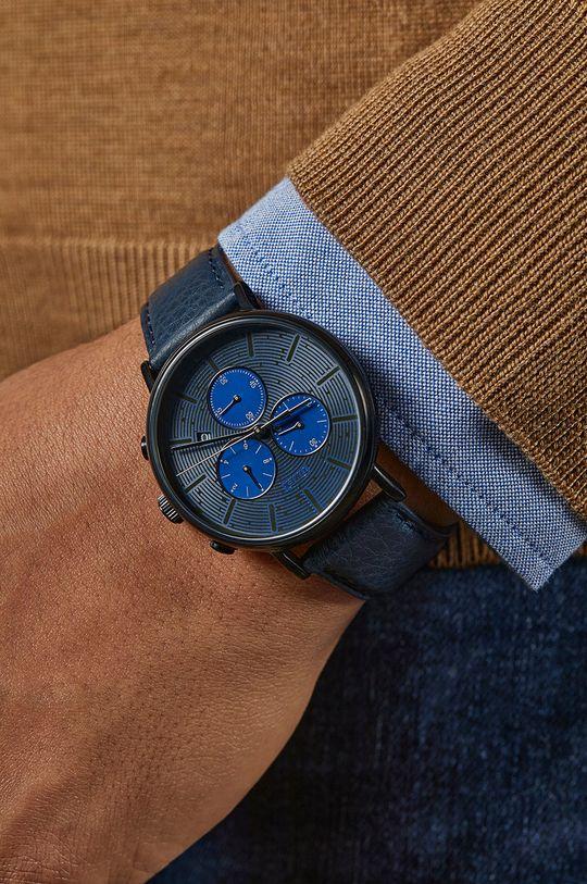 Timex - Zegarek TW2U88900 Metal, Skóra naturalna, Szkło mineralne