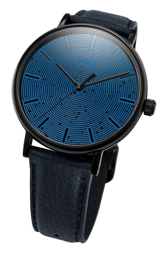 czarny Timex - Zegarek TW2U89100
