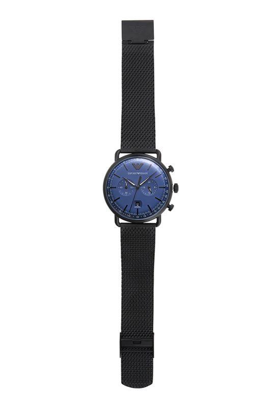 czarny Emporio Armani - Zegarek AR11201