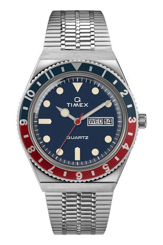 srebrny Timex - Zegarek TW2T80700 Męski