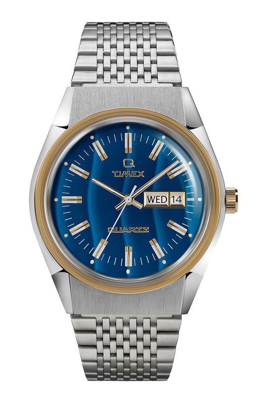 srebrny Timex - Zegarek TW2T80800 Męski