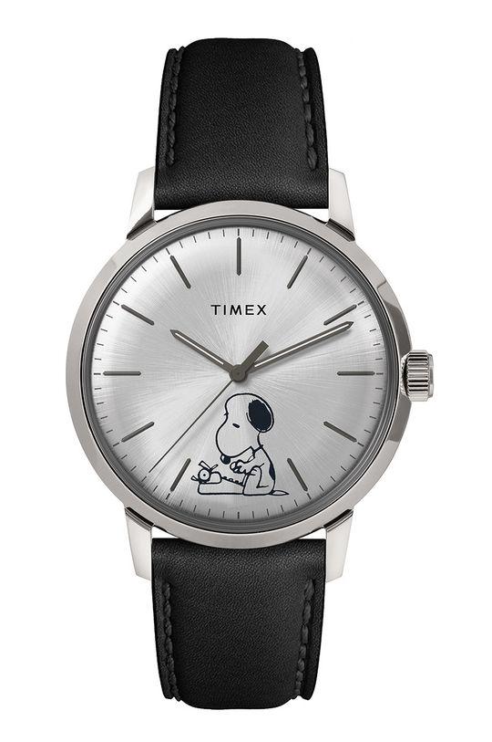 strieborná Timex - Hodinky TW2U71200 Pánsky