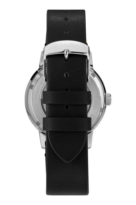 Timex - Hodinky TW2U71200  Prírodná koža, Nerezová oceľ