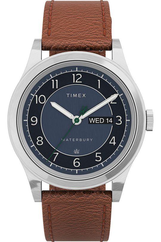 stříbrná Timex - Hodinky TW2U90400 Pánský