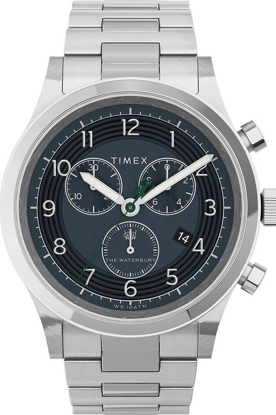 stříbrná Timex - Hodinky TW2U90900 Pánský