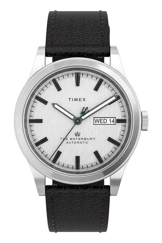 srebrny Timex - Zegarek TW2U83700 Męski