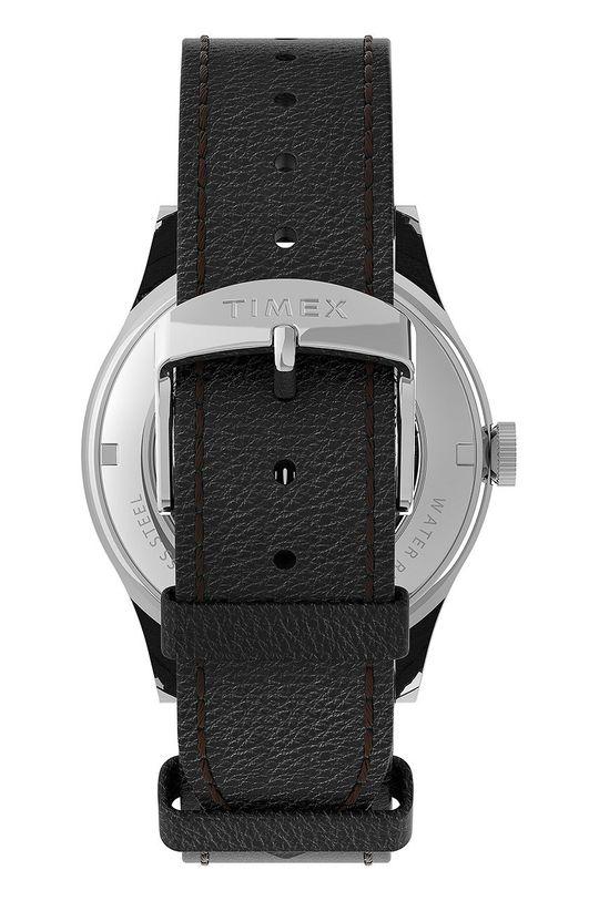 Timex - Zegarek TW2U83700 Skóra naturalna, Stal, Szkło mineralne