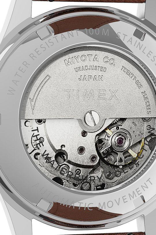 srebrny Timex - Zegarek TW2U91000