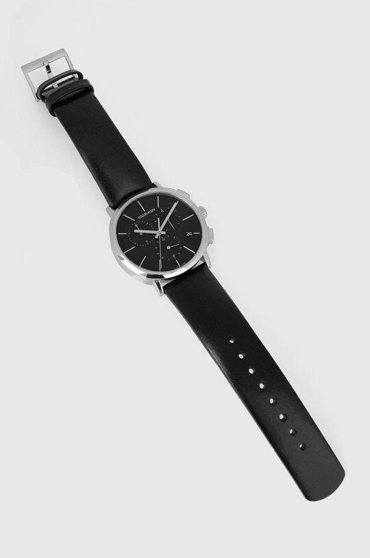 czarny Calvin Klein - Zegarek K8Q371C1 Męski