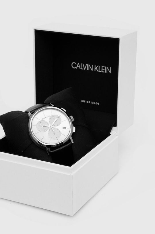 Calvin Klein - Zegarek K8Q371C6 Stal szlachetna, Szkło mineralne, Skóra