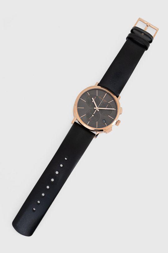 czarny Calvin Klein - Zegarek K8Q376C3 Męski