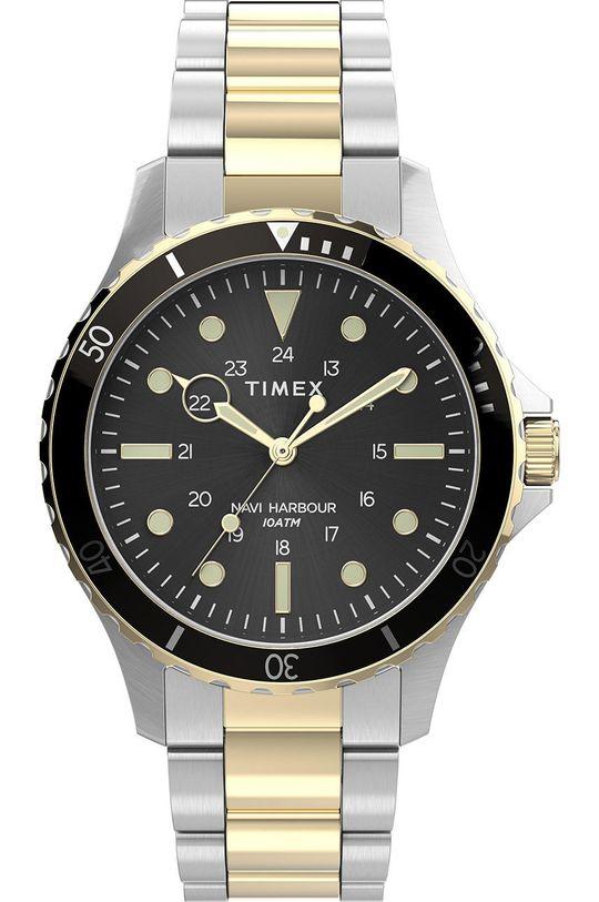 stříbrná Timex - Hodinky TW2U55500 Pánský