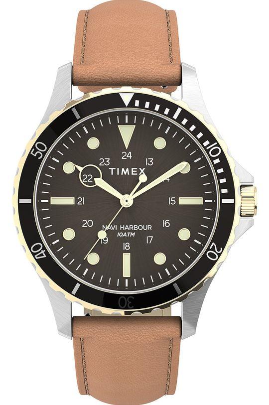 stříbrná Timex - Hodinky TW2U55600 Pánský