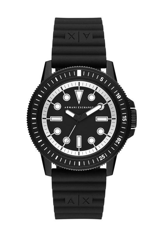 czarny Armani Exchange - Zegarek AX1852 Męski