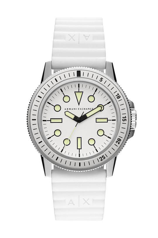 biały Armani Exchange - Zegarek AX1850 Męski