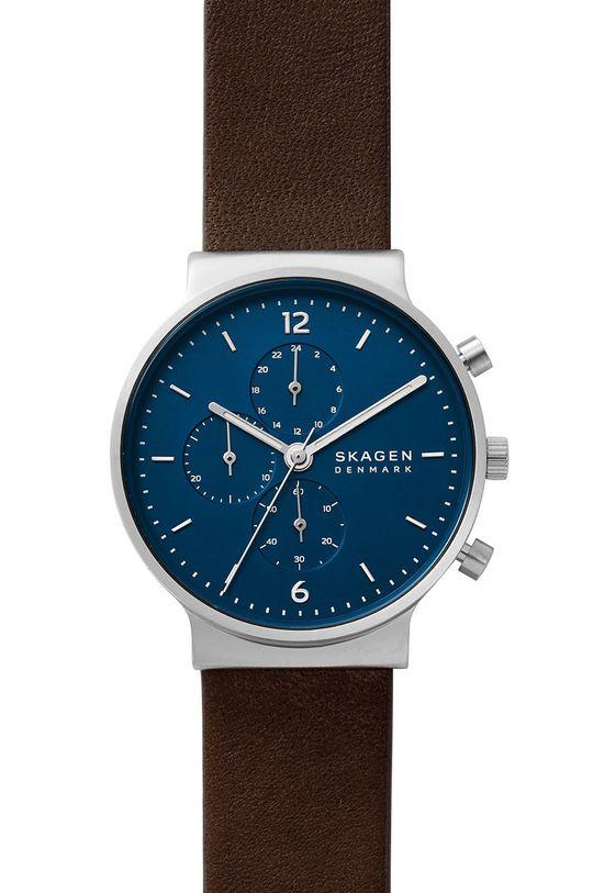 srebrny Skagen - Zegarek SKW6765 Męski