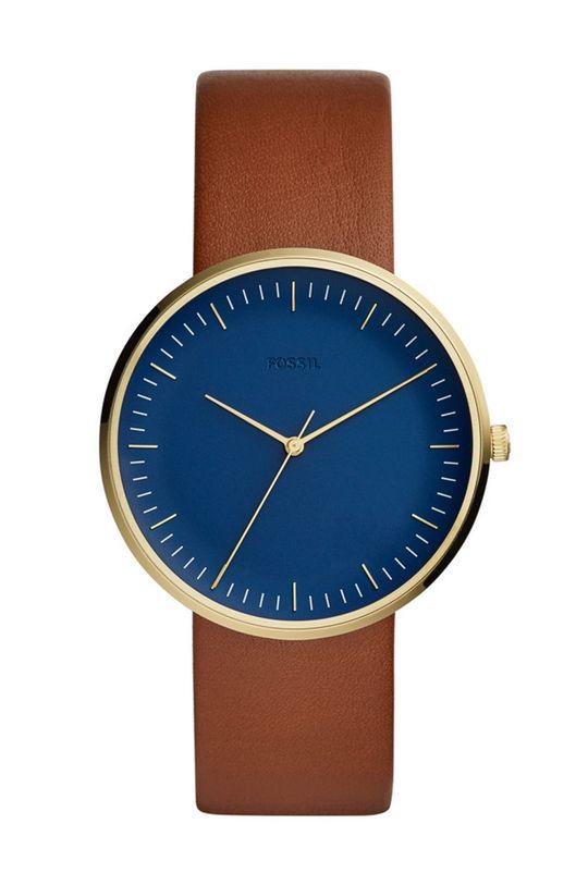 brązowy FOSSIL - Zegarek FS5473 Męski