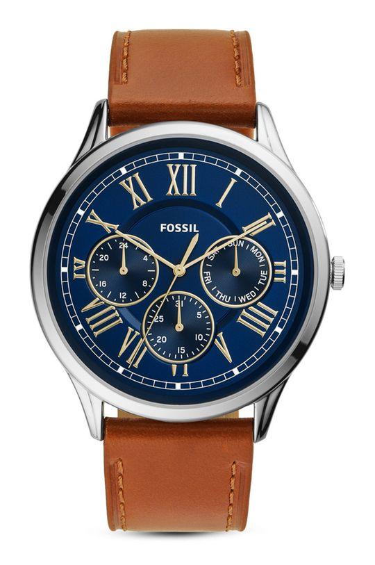 brązowy FOSSIL - Zegarek FS5703 Męski