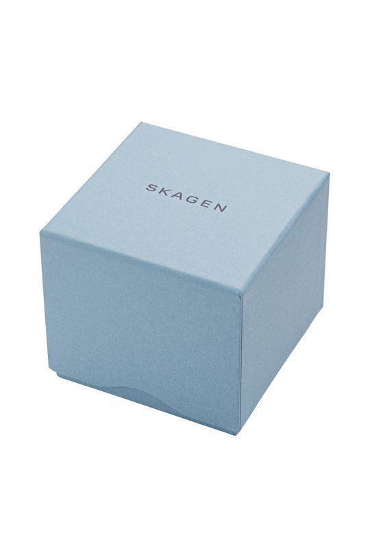 Skagen - Ceas SKW6217  Piele naturala, Otel inoxidabil, Sticla minerala