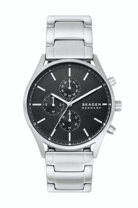 srebrny Skagen - Zegarek SKW6609 Męski