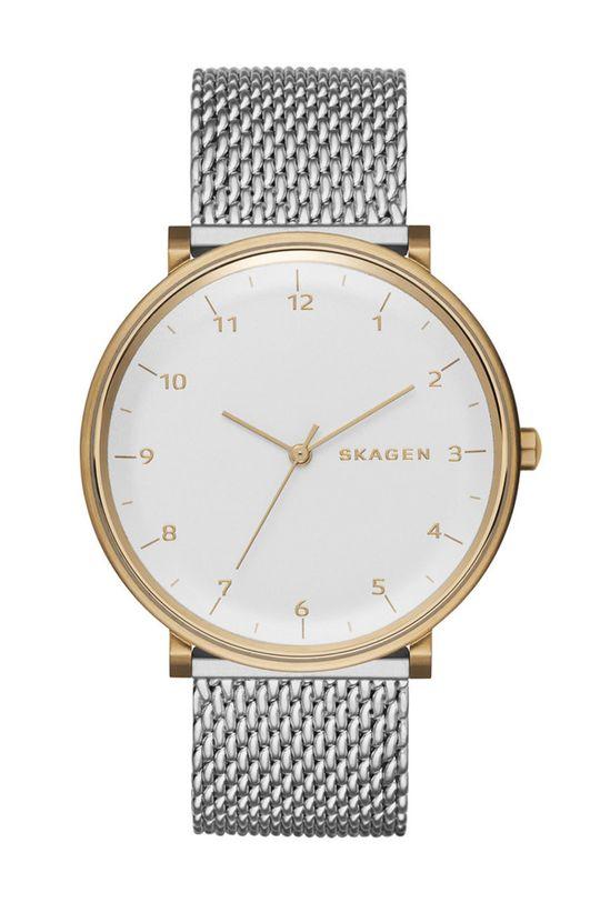 srebrny Skagen - Zegarek SKW6170 Męski