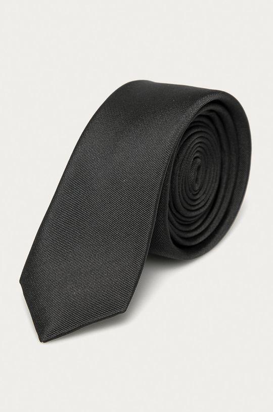 szary Selected - Krawat Męski