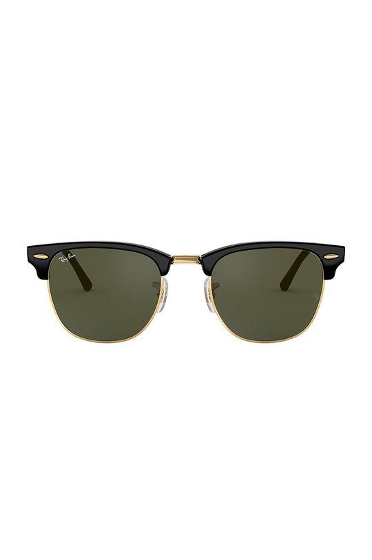 Ray-Ban - Okulary Clubmaster czarny
