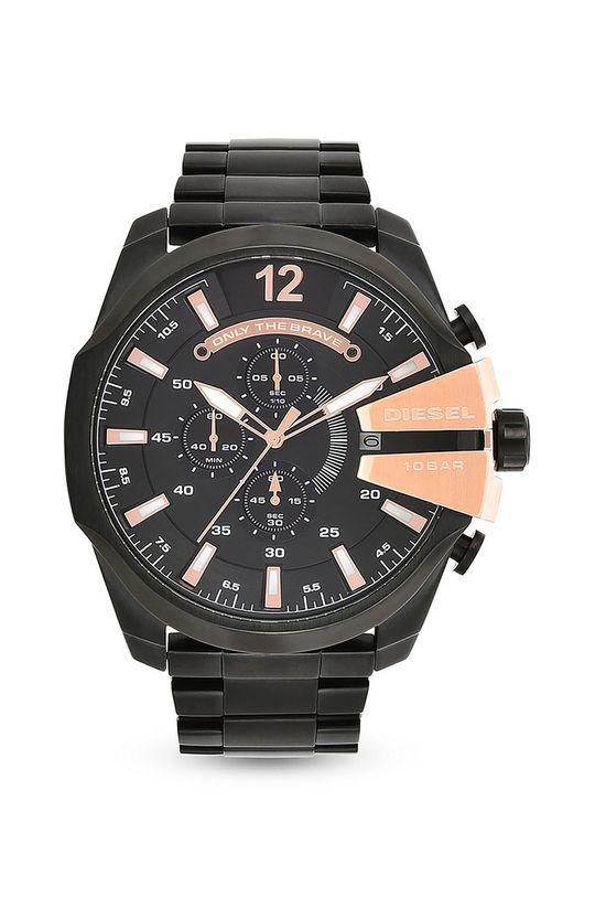 czarny Diesel - Zegarek DZ4309