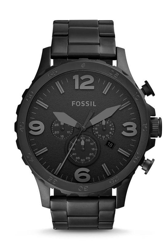 čierna Fossil - Hodinky JR1401 Pánsky