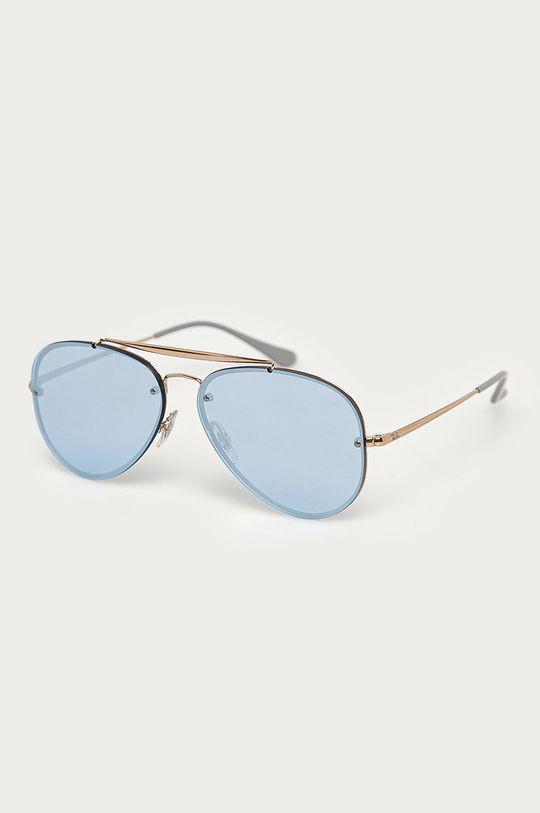 złoty Ray-Ban - Okulary 0RB3584N Unisex