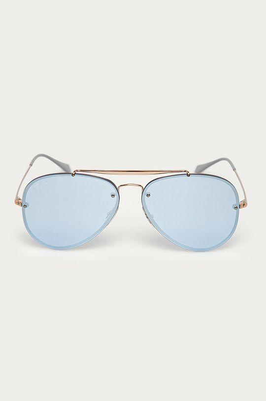 Ray-Ban - Okulary 0RB3584N złoty