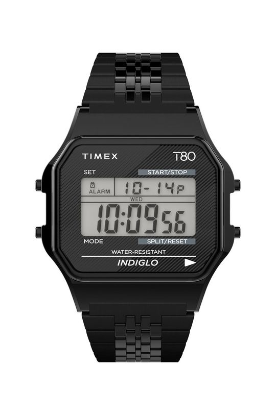 czarny Timex - Zegarek TW2R79400 Unisex