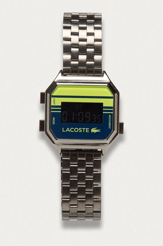 srebrny Lacoste - Zegarek 2020134 Unisex