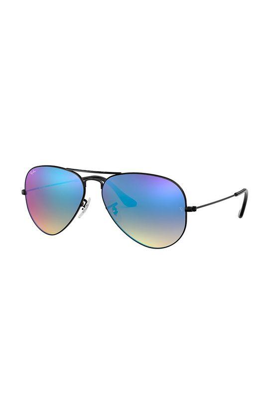 černá Ray-Ban - Brýle Aviator Unisex