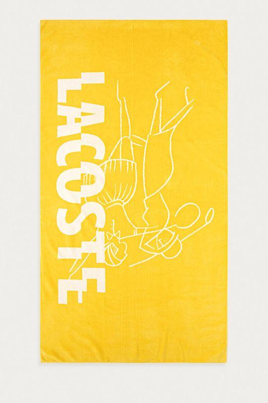 żółty Lacoste - Ręcznik Unisex