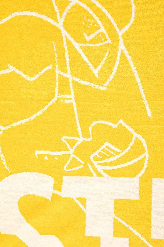 Lacoste - Ręcznik żółty