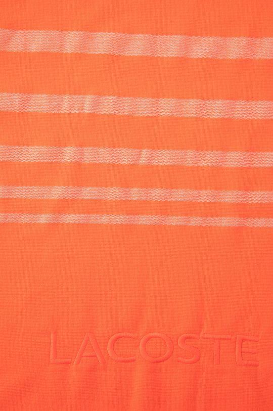 Lacoste - Ręcznik pomarańczowy