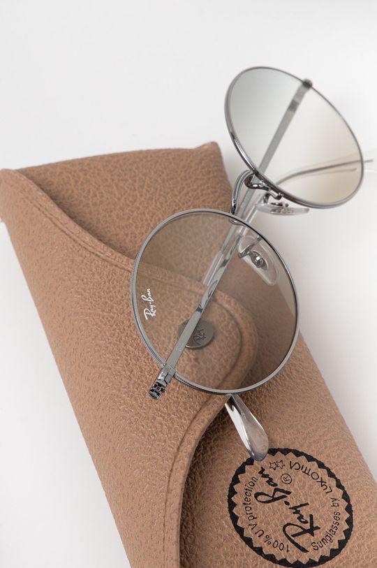 Ray-Ban - Okulary przeciwsłoneczne Oval 1970 Materiał syntetyczny, Metal