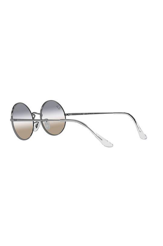 grafitowy Ray-Ban - Okulary przeciwsłoneczne Oval 1970