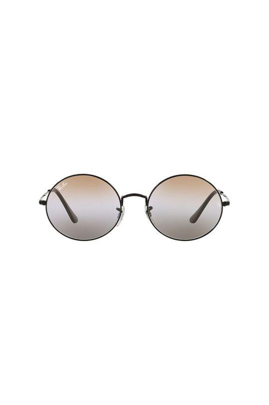 Ray-Ban - Okulary przeciwsłoneczne Oval 1970 czarny