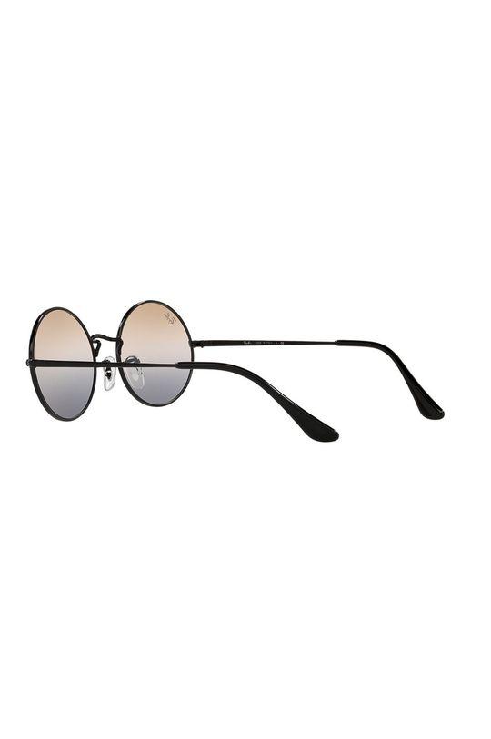 czarny Ray-Ban - Okulary przeciwsłoneczne Oval 1970