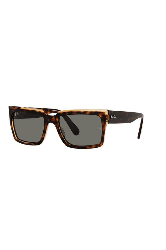 brązowy Ray-Ban - Okulary przeciwsłoneczne Inverness Unisex
