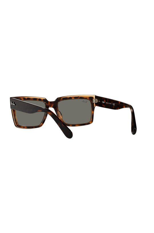 brązowy Ray-Ban - Okulary przeciwsłoneczne Inverness