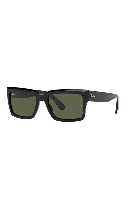 czarny Ray-Ban - Okulary przeciwsłoneczne Inverness Unisex