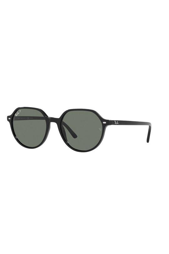 czarny Ray-Ban - Okulary przeciwsłoneczne 0RB2195 901/58 Unisex