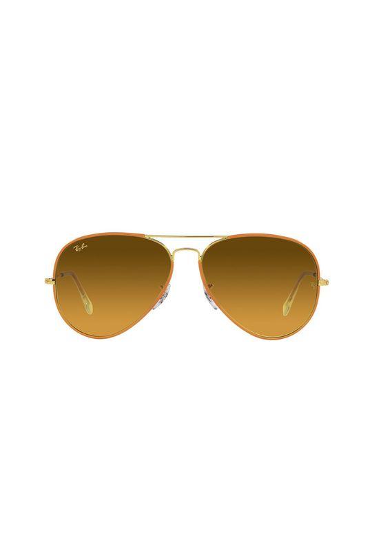 Ray-Ban - Okulary przeciwsłoneczne 0RB3025JM żółty