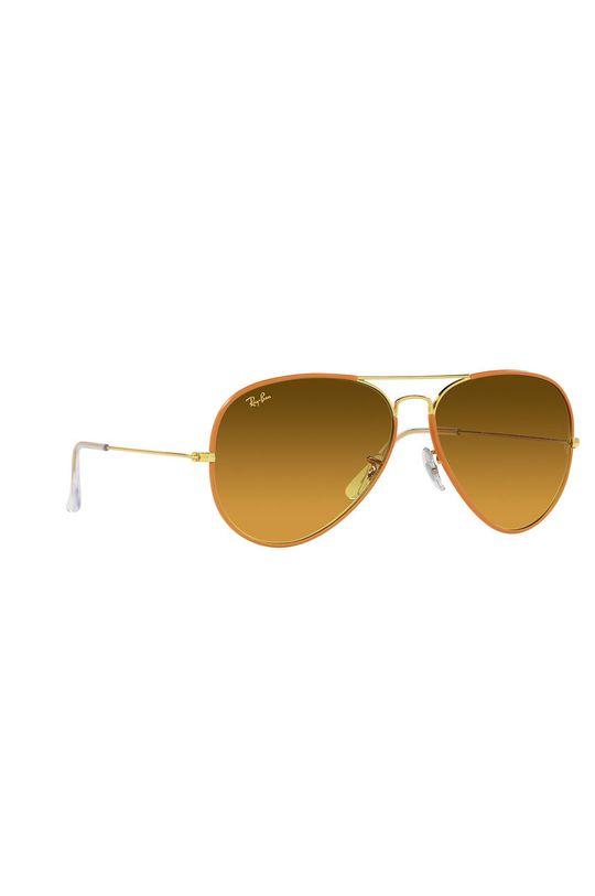 Ray-Ban - Okulary przeciwsłoneczne 0RB3025JM Materiał syntetyczny, Metal