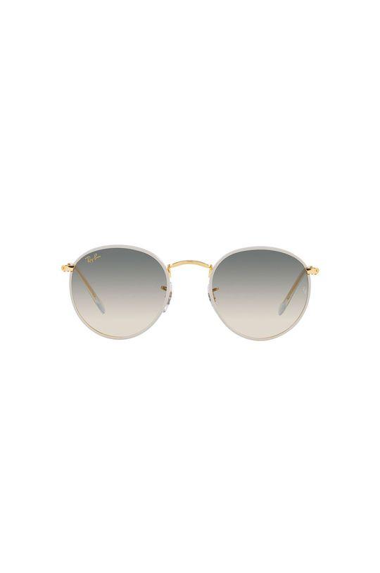 Ray-Ban - Okulary przeciwsłoneczne 0RB3447JM złoty