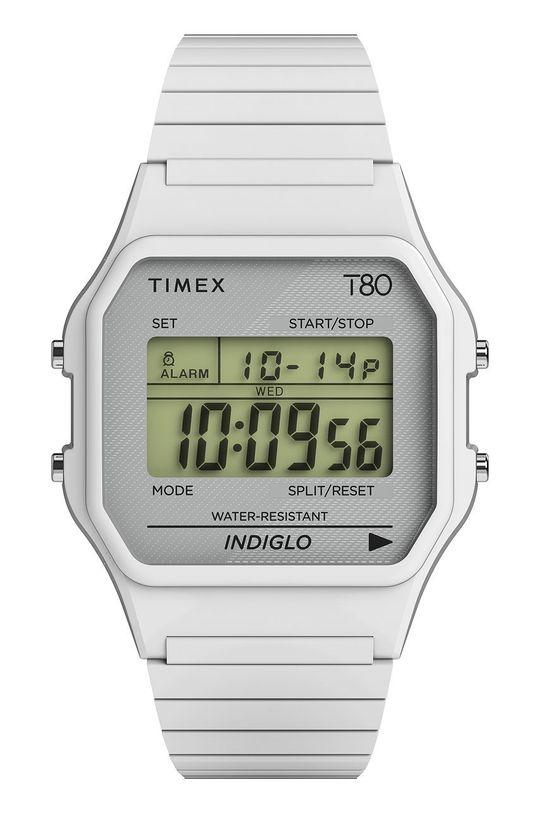 biały Timex - Zegarek TW2U93700 Unisex