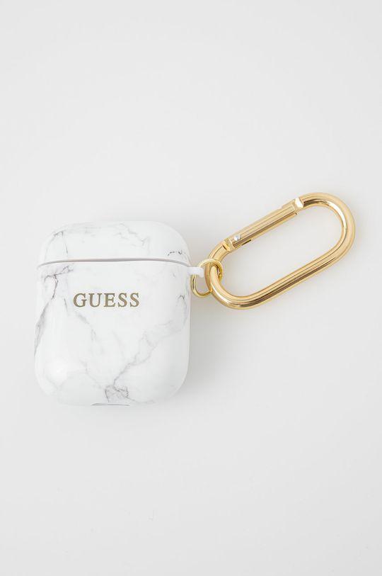 biały Guess - Pokrowiec na Airpods Unisex